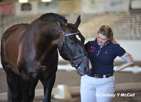 Susan Treabess and horse Kamiakin  photo by Lindsay Yosay McCall