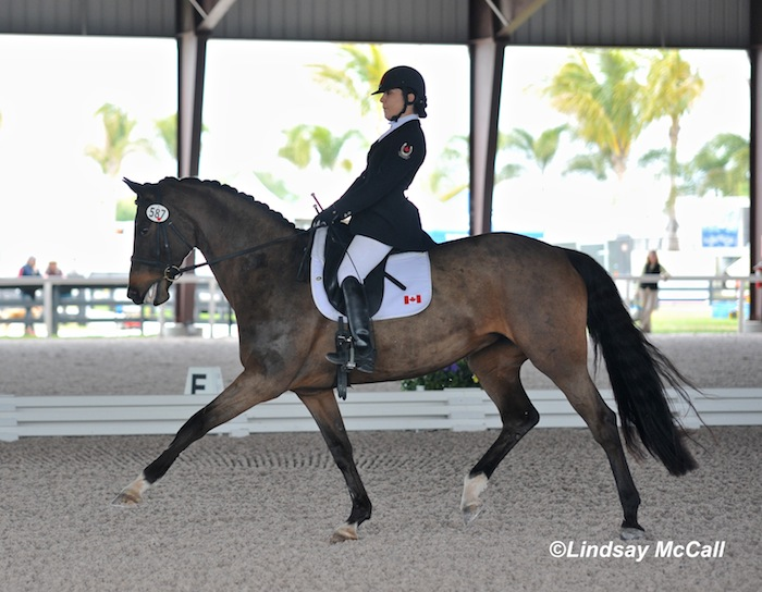 Ashley Gowanlock (CAN) and Ferdonia 2 (Owned by Lauren Barwick) Photo(C) Lindsay McCall