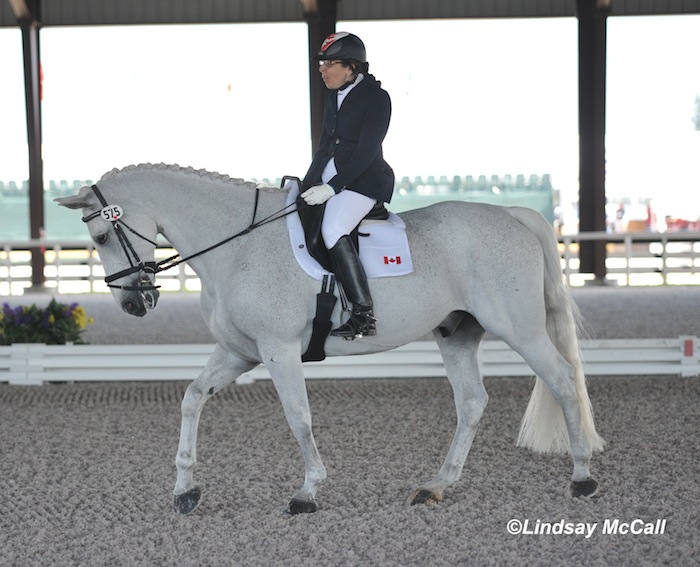 Jody Schloss and Inspector Rebus (CAN) Photo(C) Lindsay McCall