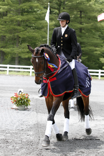Photo Copyright Susan J. Stickle. Photo of Rebecca Hart and Lord Ludger 2012 USEF Para-Equestrian Dressage National Champion. Photo is taken in Gladstone, NJ.
