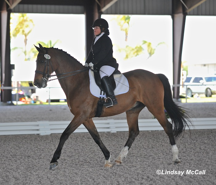 Eleanor Brimmer and Carino H (USA) Photo(C) Lindsay McCall