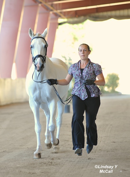 Asheigh Flores-Simmons's horse Athena photo by Lindsay Yosay McCall