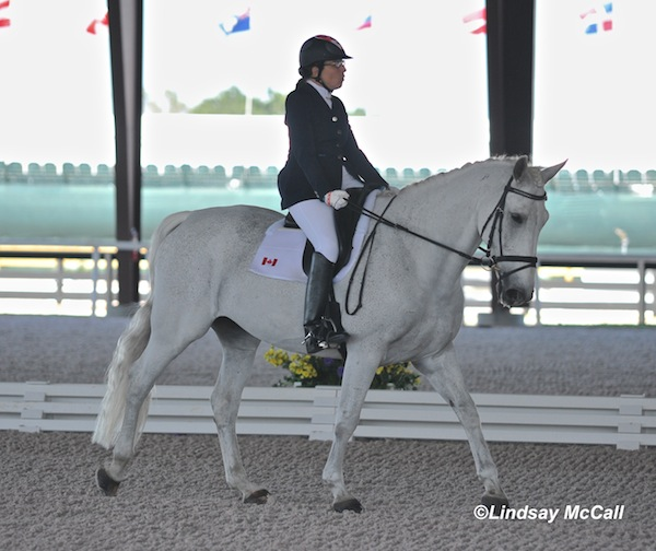 Jody Schloss (CAN) and Inspector Rebus Photo(C) Lindsay McCall