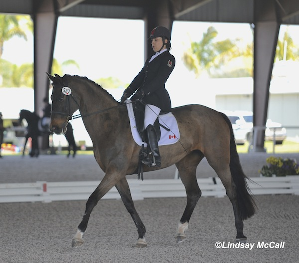 Ashley Gowanlock (CAN) and Ferdonia 2 Photo(c) Lindsay Mccall