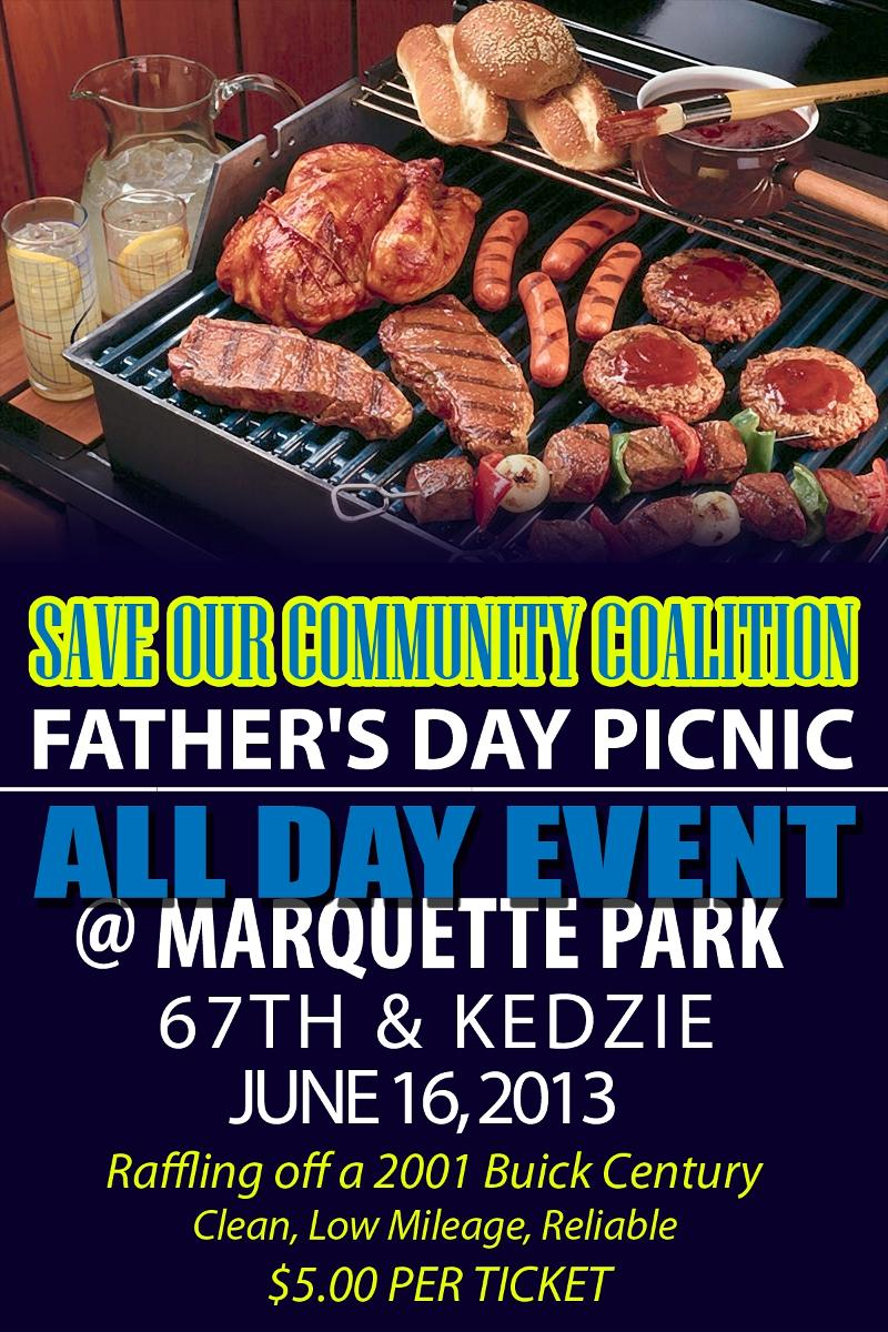 Save Our Community Coalition Fathers Day Picnic Sunday ...