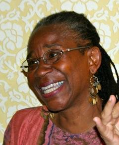 Valerie Batts smiling