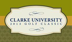 Clarke University 2013 Golf Classic