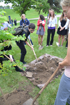 Convocation and Tree Planting