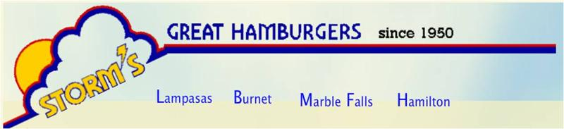 Storms Hamburgers 2012 World Sponsor