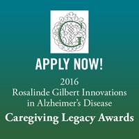 Apply now! Caregiving Legacy Awards