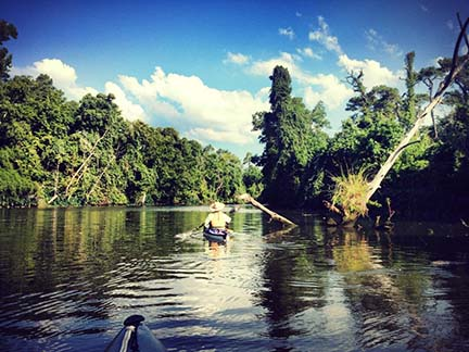 insta kayak from Reach 7
