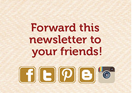 Forward this newsletter to your friends!