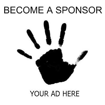 your ad here handprint