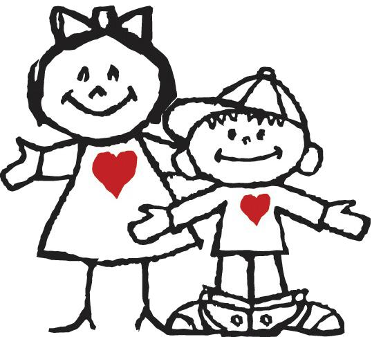 Love Fund Kids cut out transparent