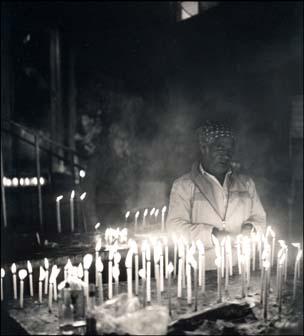 man praying / beasley