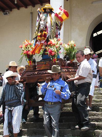 anda church steps santiago
