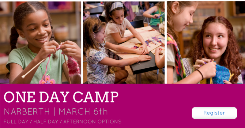 One Day Camp | March 6th