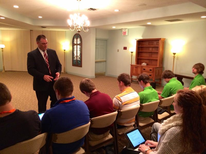 Week 10 Business Visits Harvey Anderson Funeral Home Thursday