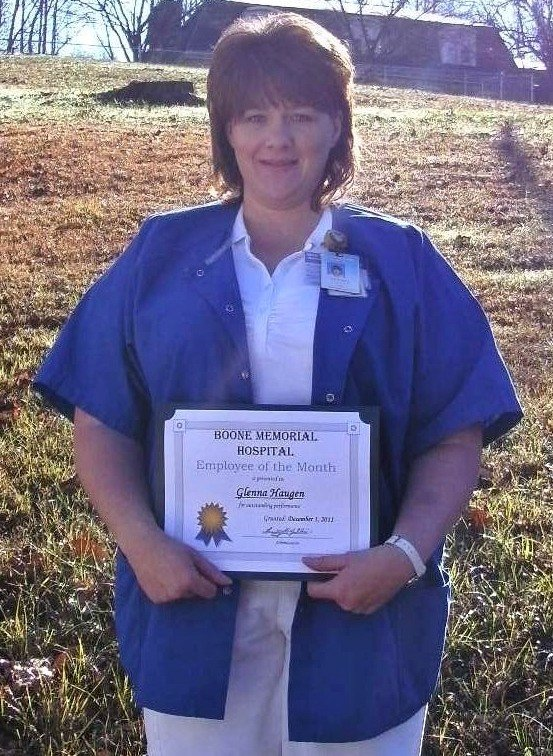 Glenna Haugen-Dec 2011 Employee of the Month