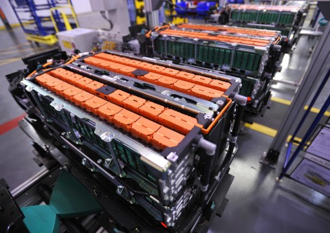 Ford's C-MAX Lithium Battery Pack