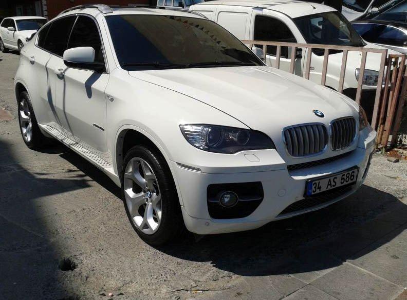 Armored BMW X6
