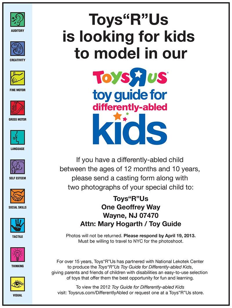 Casting Toys R Us Catalog
