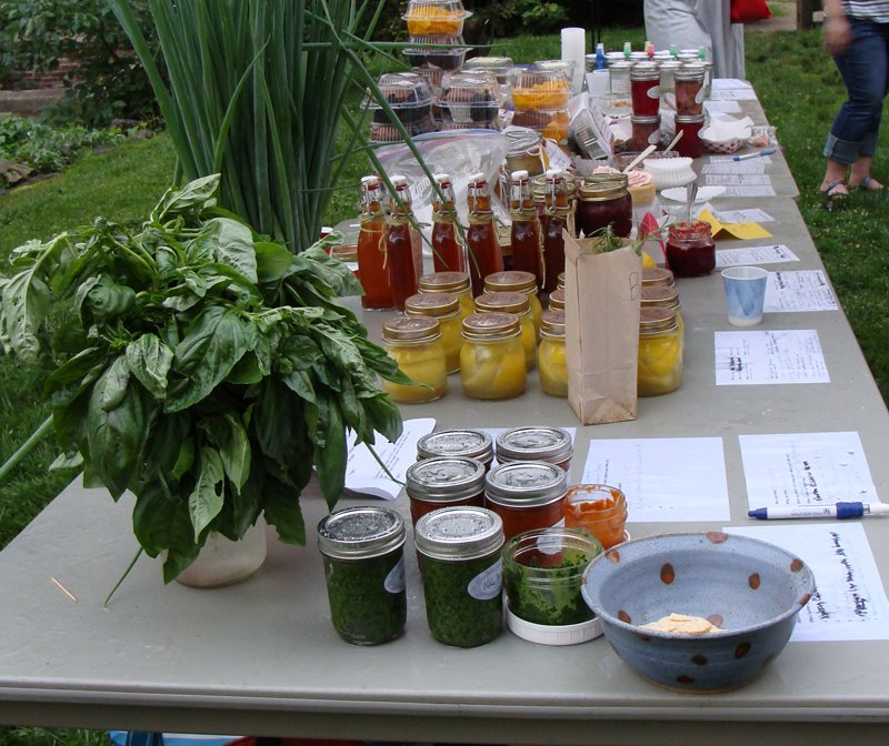 Philly Food Swap at Wyck House