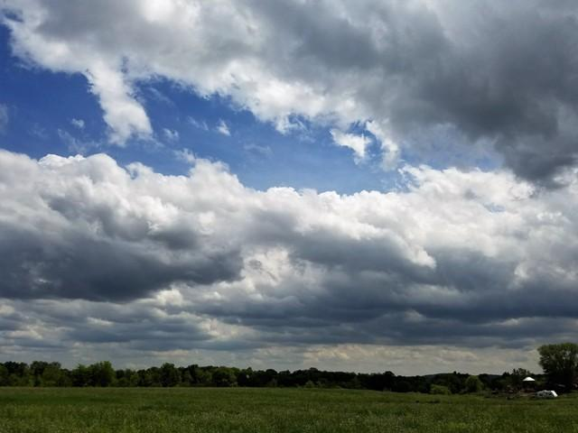 Clouds over the Farm.
