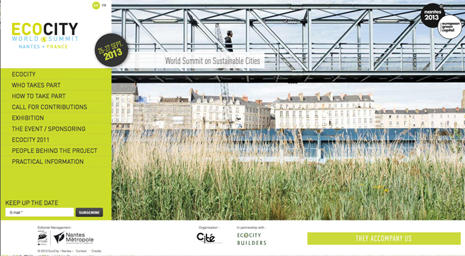 ecocity-2013 website