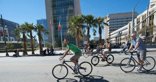 bikes in LA