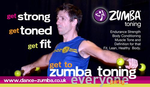 Invitation To Zumba Toning Bootcamp Week