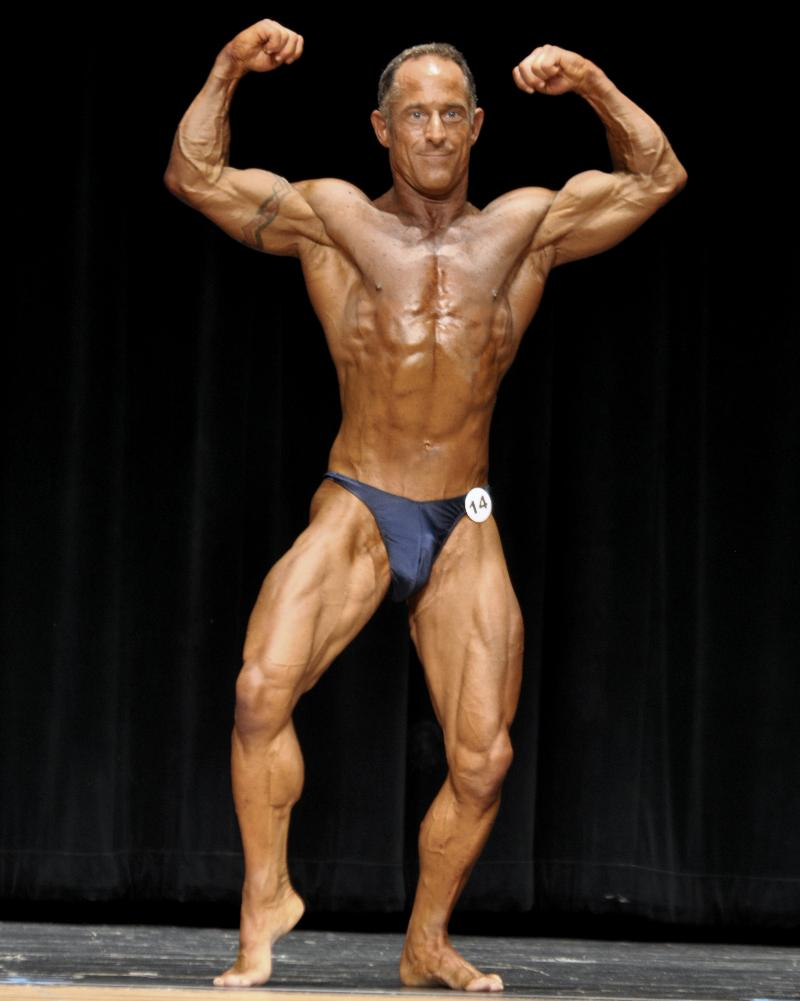 Jim Driskell (men's open bodybuilding lightweight, 3rd place)