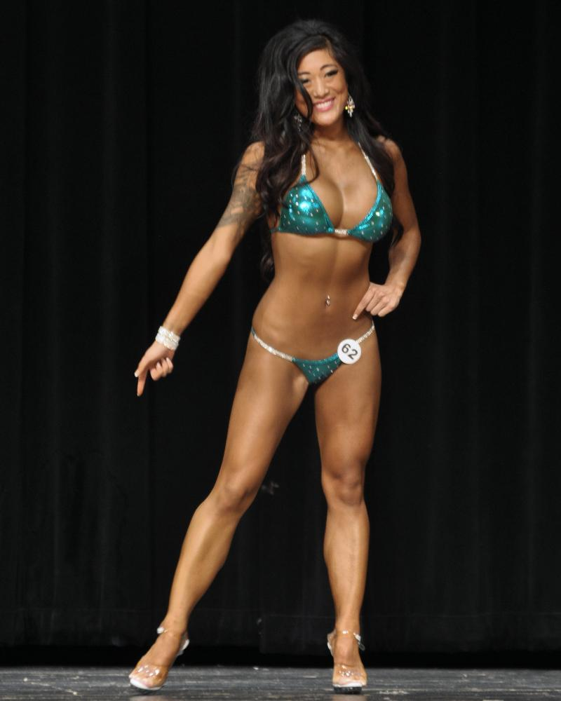 Hannah Kim (bikini class A, 4th place)