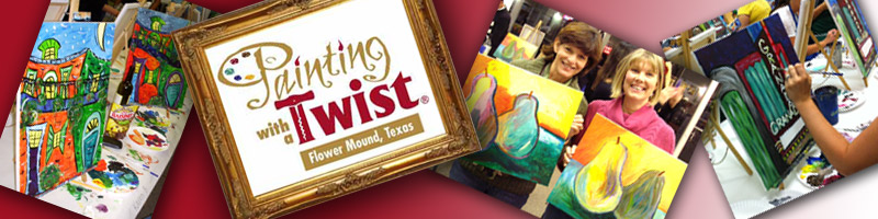 Painting With A Twist And Rouge Bistro Event