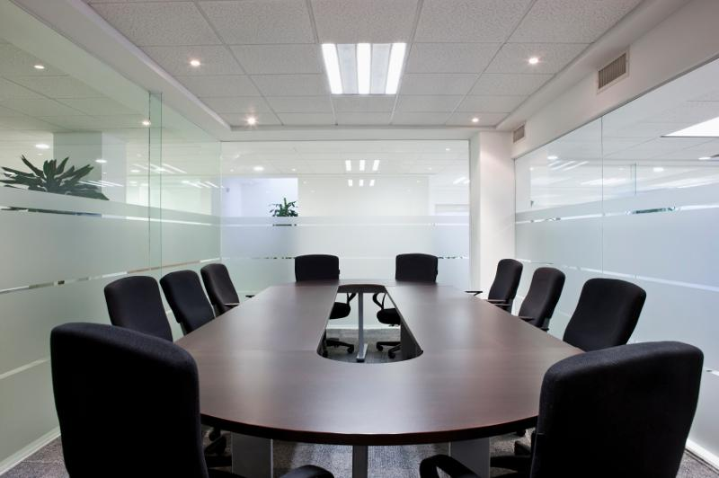 Clean Conference room