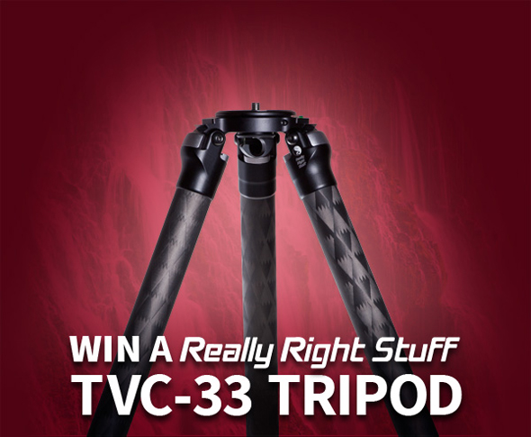 Win a TVC-33 Tripod!