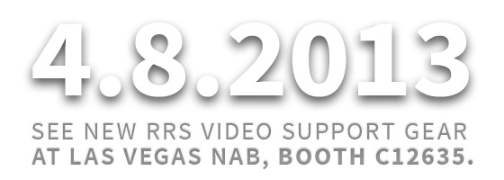 Come see RRS at NAB in Las Vegas, Booth C12635