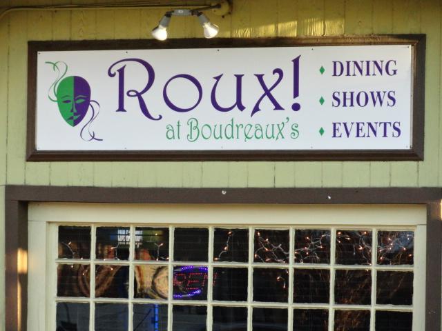 Roux! sign