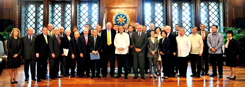 US Philippines Society with President Aquino_Cabinet