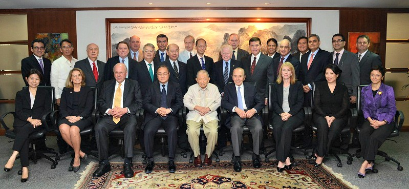 US Philippines Society Leadership with President Aquino_Cabinet