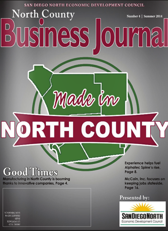 Weekly Pulse of North County June 25, 2014 Table of
