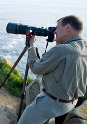 Large Lens on Tripod