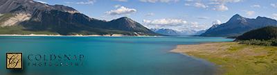Lake Abraham, Alberta