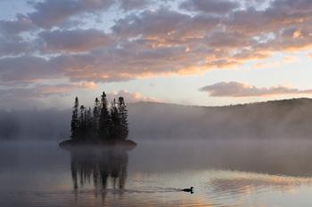 Sunrise Cresent Lake