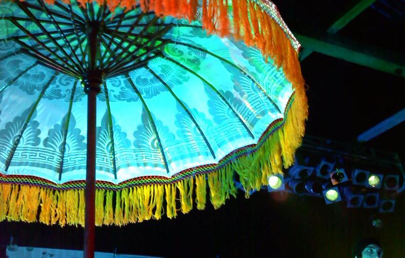 Seeking Indigo Umbrella at Music Farm