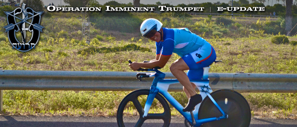 Warming Up for Israel TT Cycling Championship