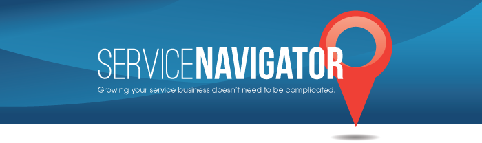 ServiceNavigator - Growing your service business doesn't need to be complicated.