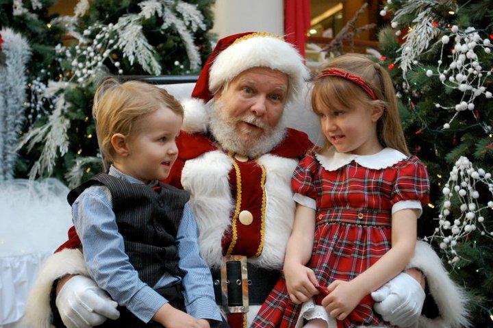Santa with Dillon & Teaghan