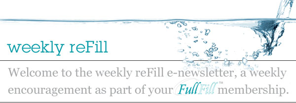 weekly refill welcome