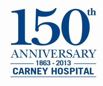 Carney Hospital 150th Anniversary Logo